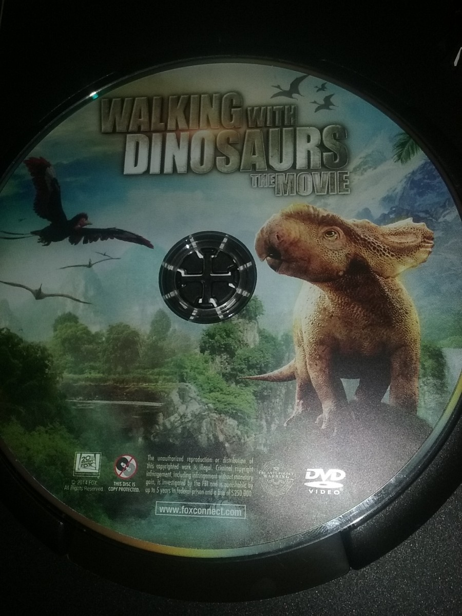 Movie review of Walking With Dinosaurs the movie