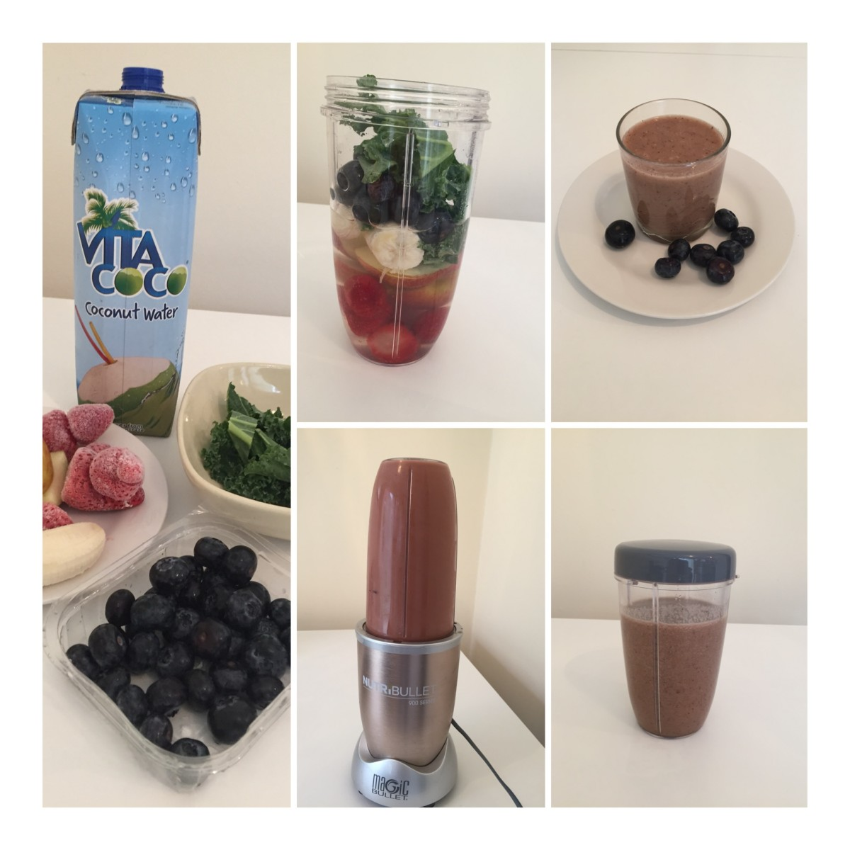 Delicious Kale And Fruit Smoothie