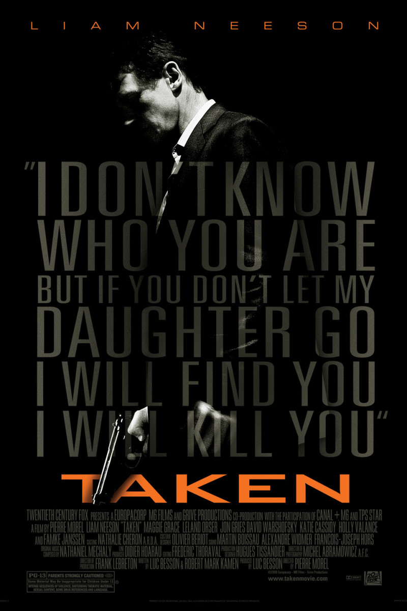 "10 Breathtaking Movies Like ""Taken"""