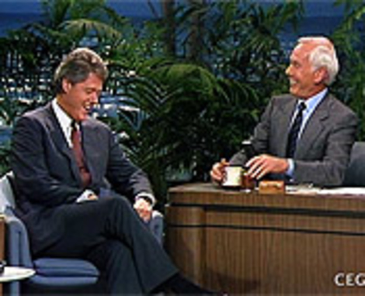 Clinton's Appearance On Johnny Carson In 1988 Very Well Could Have Saved His Political Career