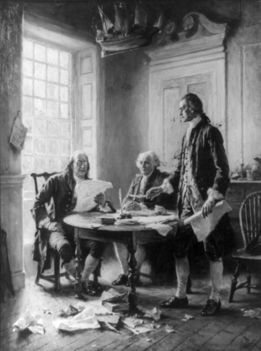 Thomas Jefferson and John Adams Both Worked Hard For Independence. It Is Fitting They Both Died On July 4.