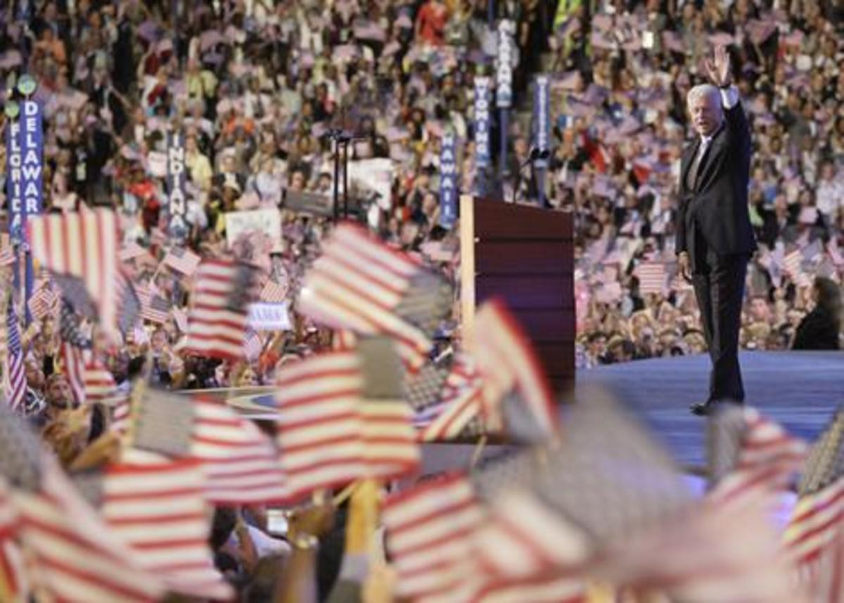 Four Years After Being Booed Off The Stage, Clinton Won The Nomination And Became The Most Beloved Member Of The Democratic Party.