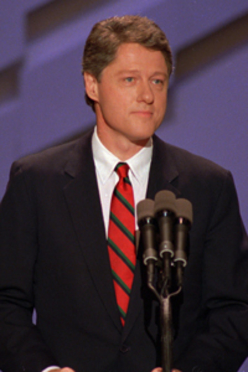 A Very Young Bill Clinton Was Literally Booed Off The Stage At The 1988 Democratic Convention.