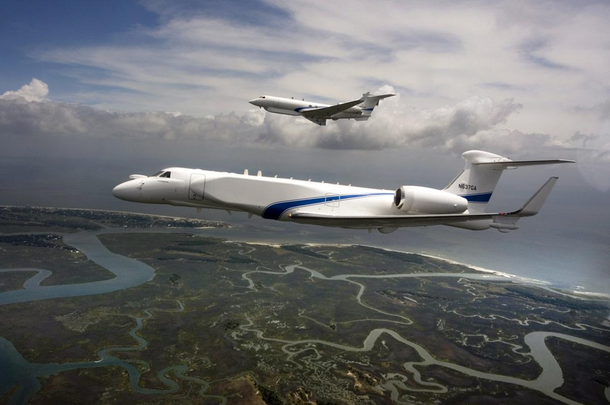 Take a trip aboard a Gulfstream G550.
