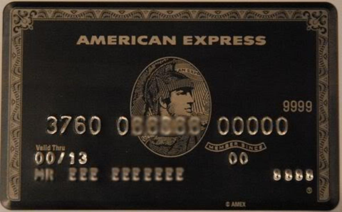 American Express Centurion The Black Card – American Express Black Card Invitation
