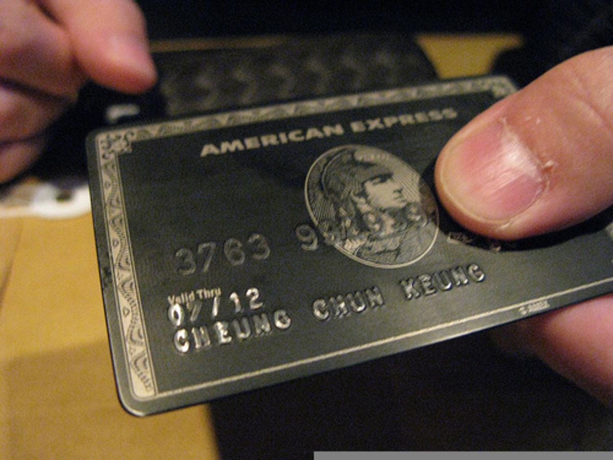 American Express Centurion: The Black Card