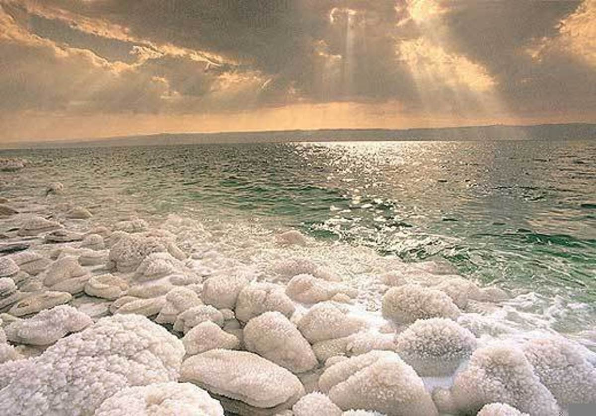 For Sale: Two-Handfuls of Dead Sea Sand, overnight Delivery Available, call for details.