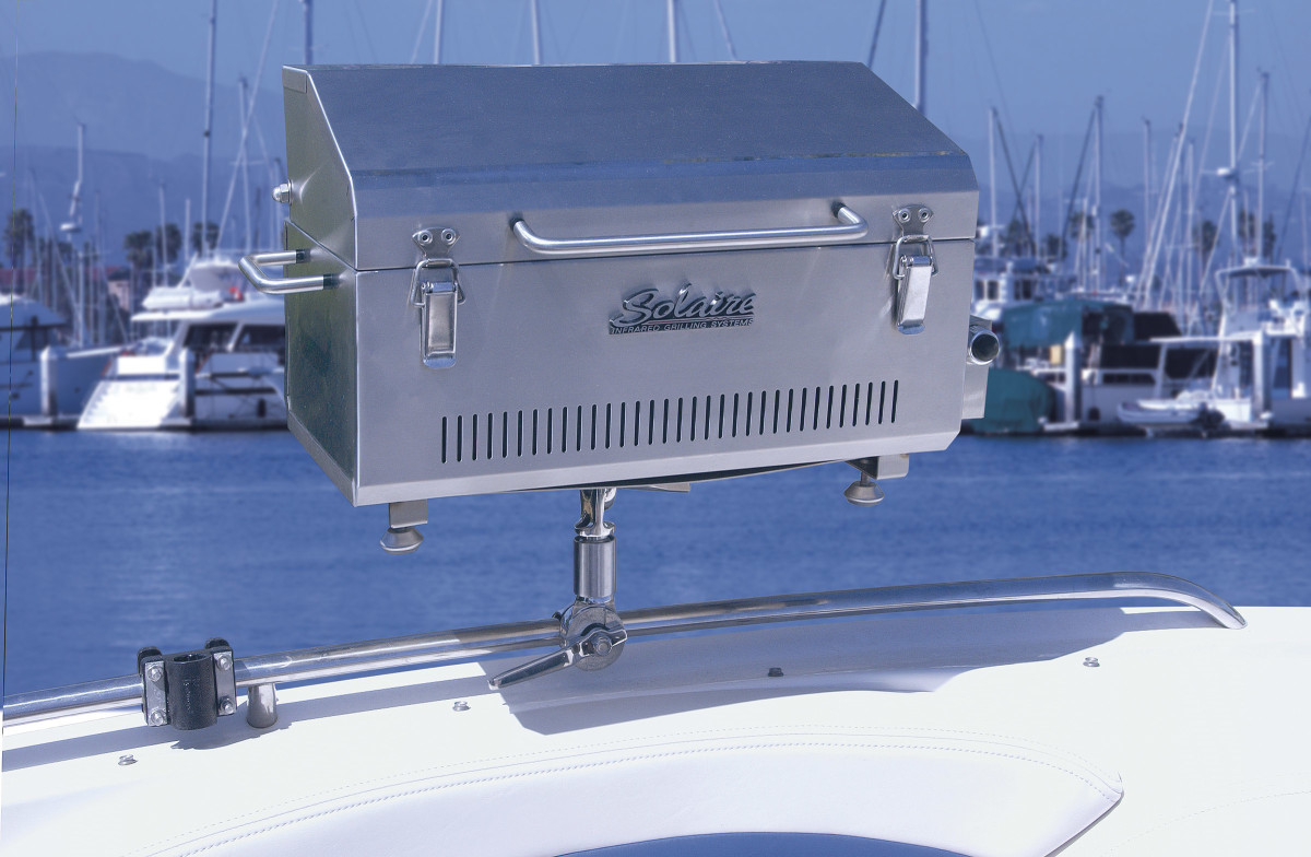 Because infrared grills heat is direct off the flame, the grills are just as effective in strong wind or snow.