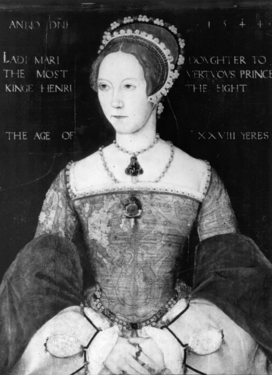 MARY TUDOR QUEEN OF ENGLAND