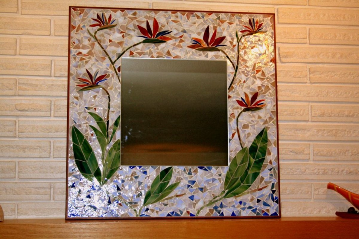 Making Stained Glass Mosaic Mirrors Hubpages