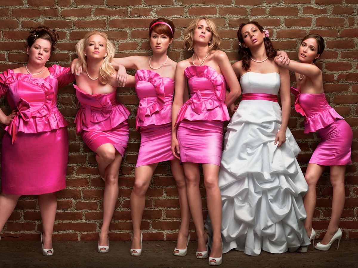 As fun as these ladies are...maybe not the best choices for bridesmaids