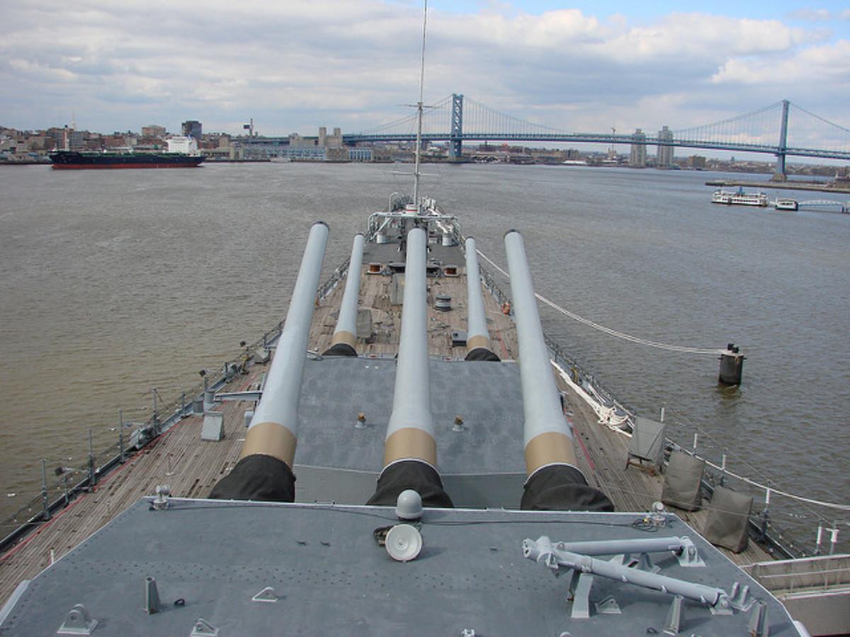 Battleship USS New Jersey