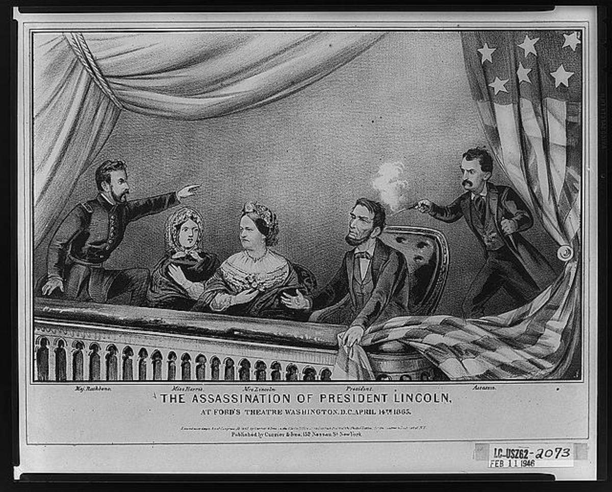 The Assassination Of President Abraham Lincoln