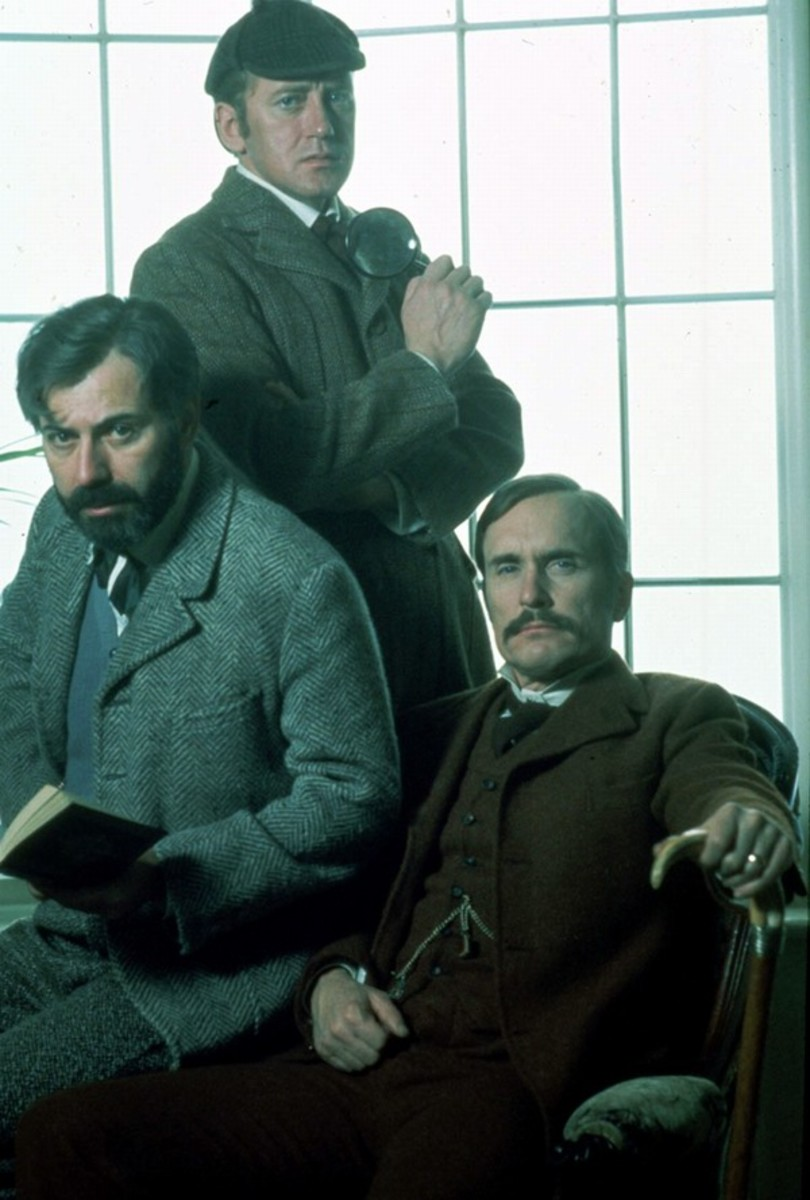 Alan Arkin, Nicol Williamson and Robert Duvall in The Seven-Per-Cent Solution
