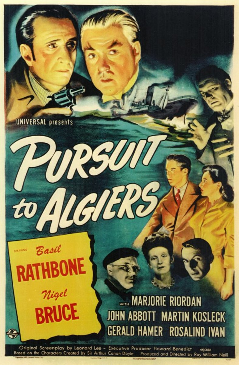 Pursuit to Algiers 1945