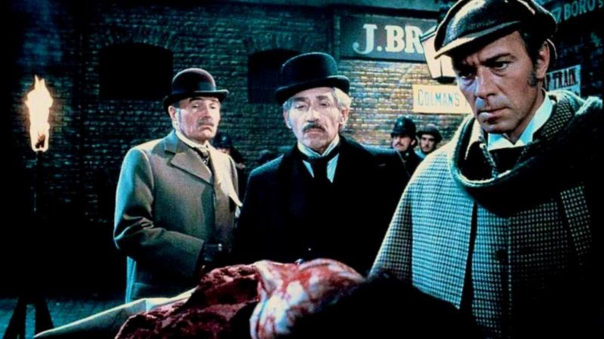 James Mason, Frank Finlay and Christopher Plummer in Murder by Decree