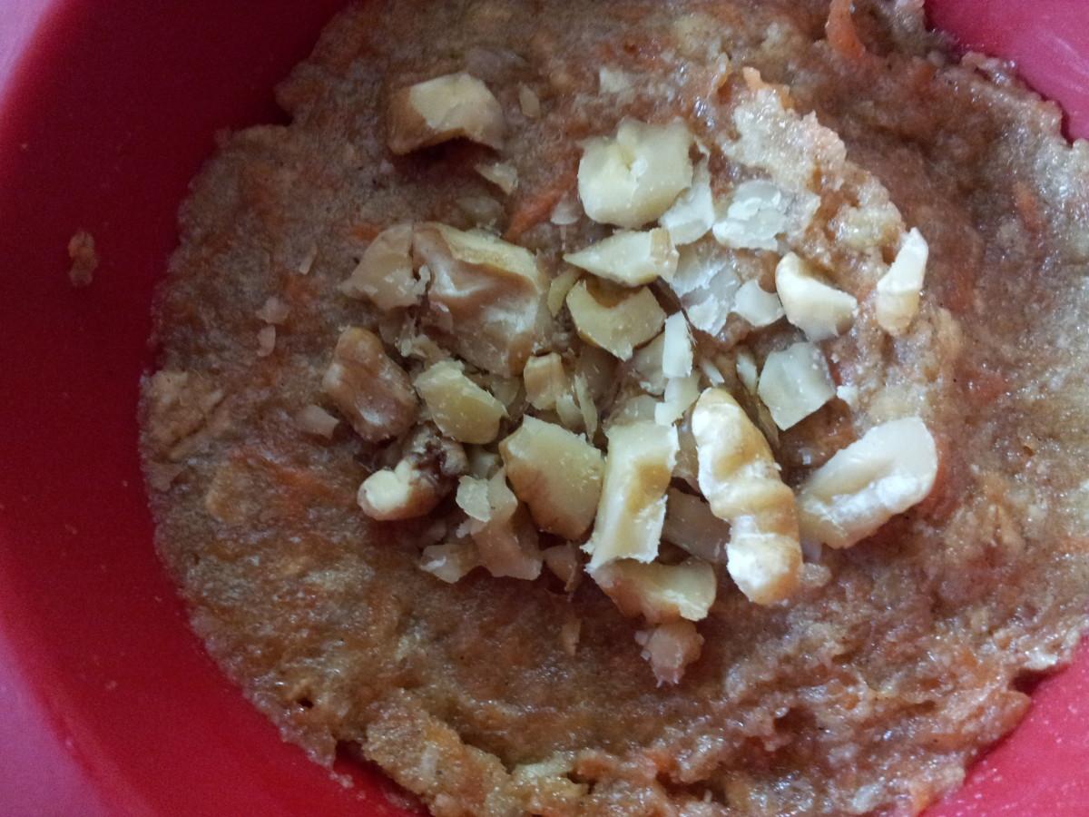 Gotta love those Omega-3 packed walnuts!