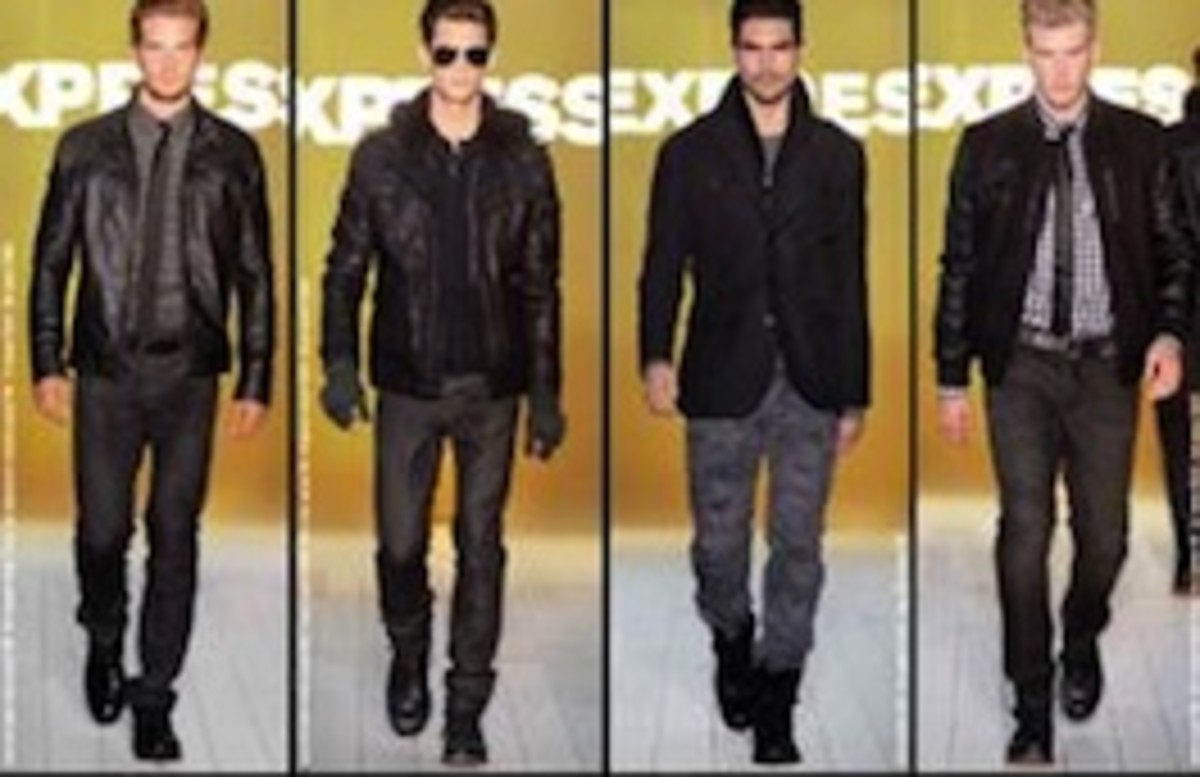 A look at some great jackets and coats by Express