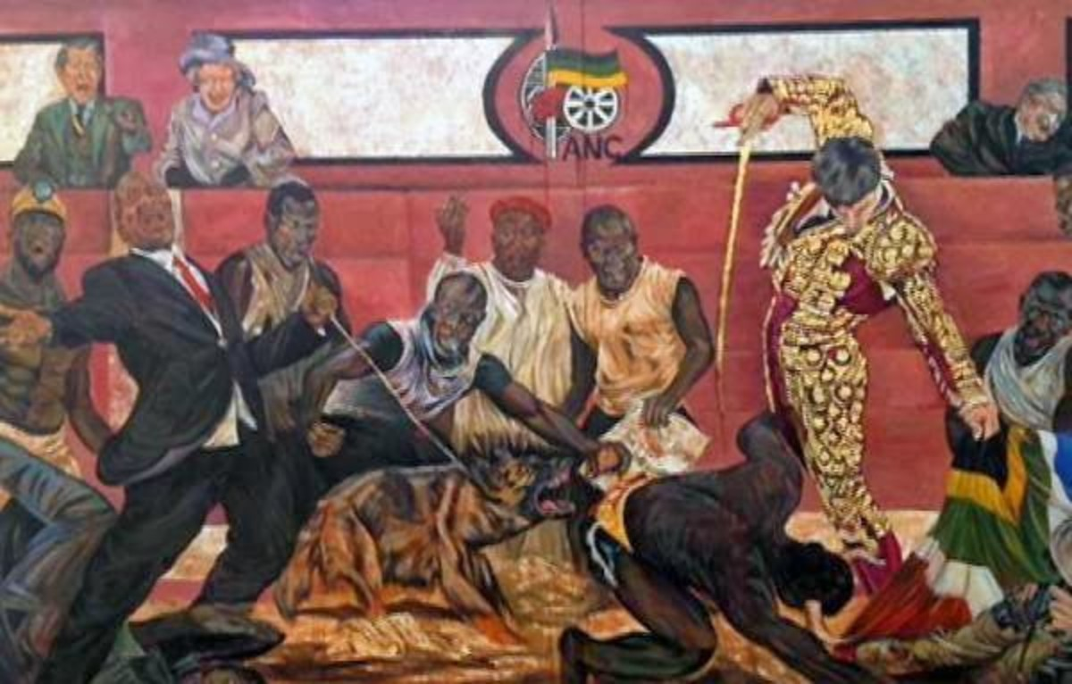Marikana massacre depicted in South african Contemporary Art