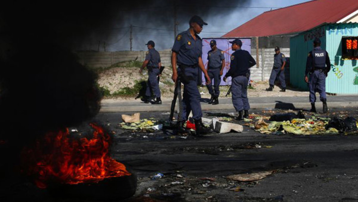 Street anger: corruption is seen as contributing to poor public services, a significant cause of protests in South Africa Nkululeko Gwala always said that he would rather take a bullet than run. On the day he died, the normally jovial anti-corrup