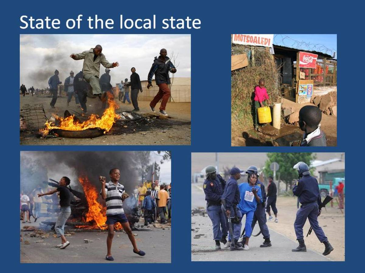 The local state – its politicians, agenda and bureaucracy, is under popular attack