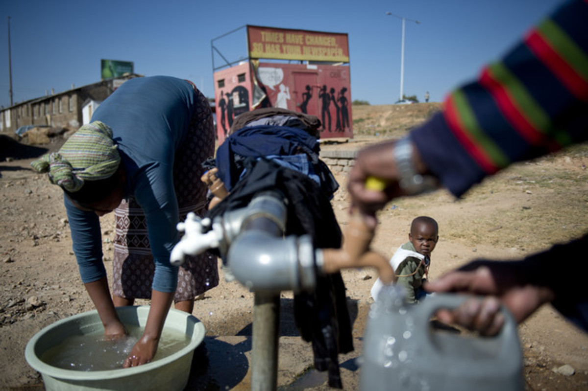 South Africa's water demand will outstrip its supply between 2025 and 2030, according to projections in the National Treasury's 2012 Budget Review.