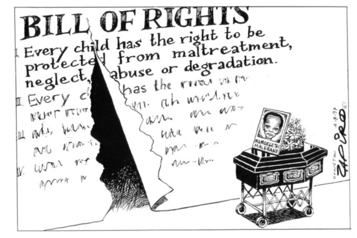 Bill Of Rights: Protecting SA's Children