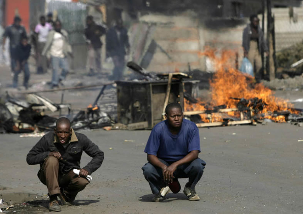 The Image of unrest and burning fires/very frustrated Africans has become a new normal in the context of the real-politic and struggles of the poor under the ANC