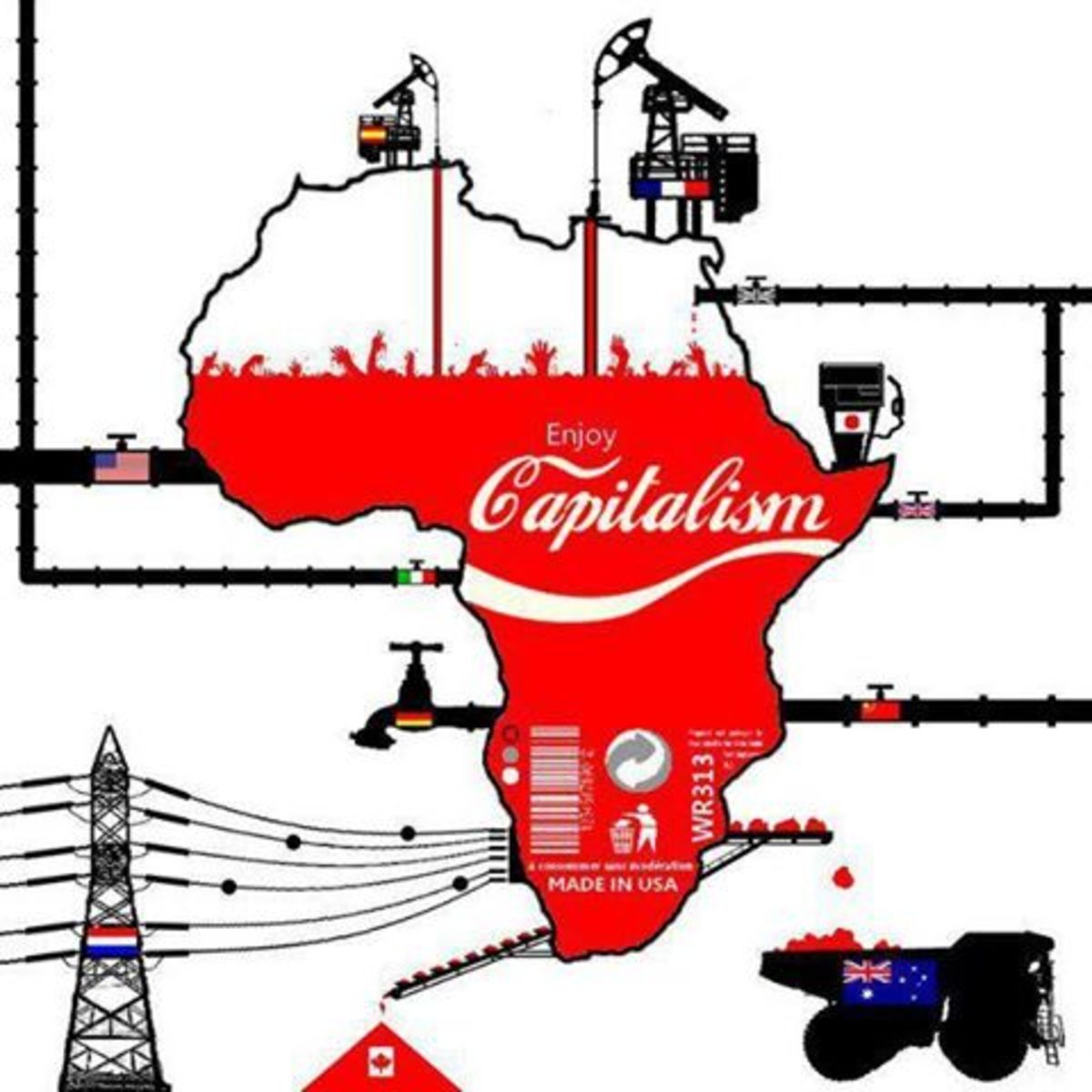 Who Really Controls  and own oil and natural mineral wealth of Africa....