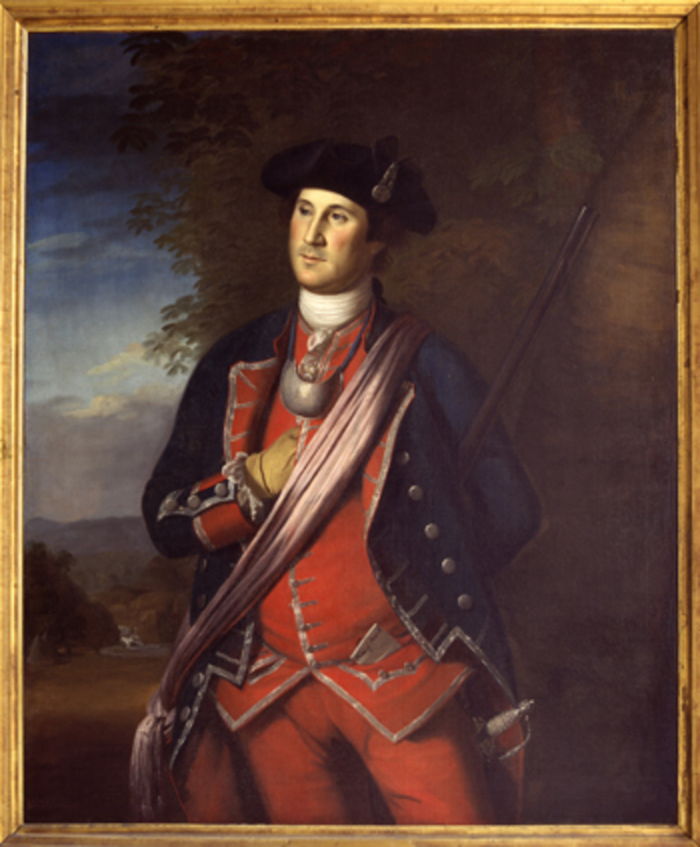 British Officer George Washington