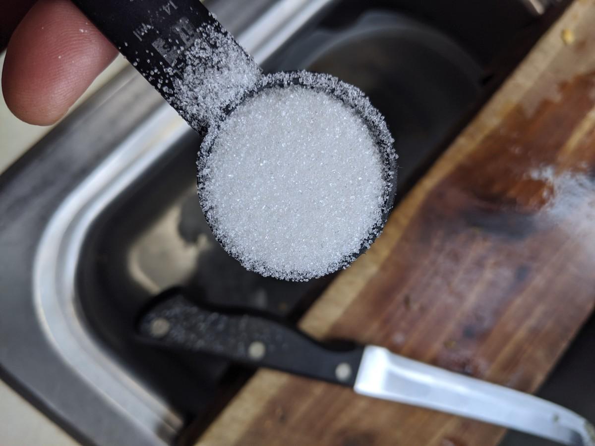 1 tablespoon of sugar