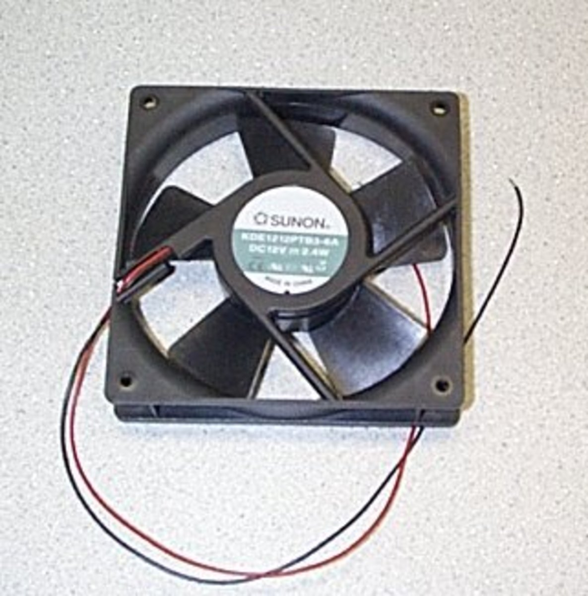 fan and power supply