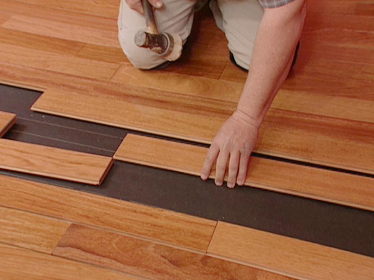 How to Install Floating Wood Floors