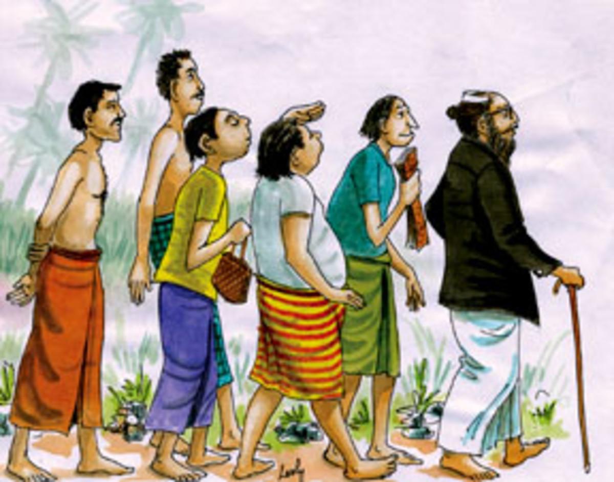 Folk tales of Sri Lanka  Mahadenamutta goes in search of new pupils   Retold by R. S. KARUNARATNE