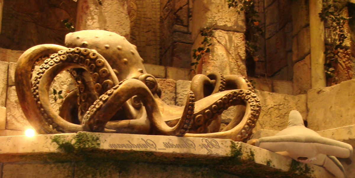 Octopus with Eight Arms
