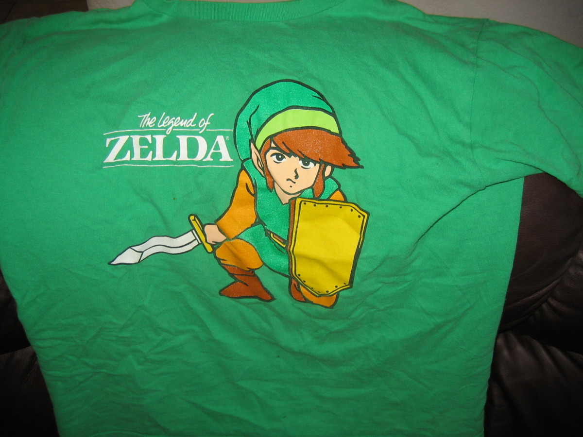 "This is the character called Link, from the Nintendo video game series ""The Legend of Zelda."""