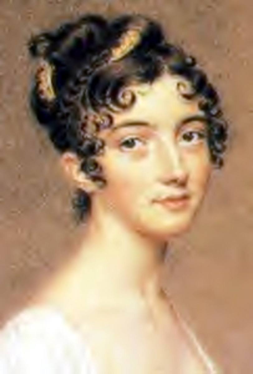 Ringlet hairstyles, some history and their continuing popularity