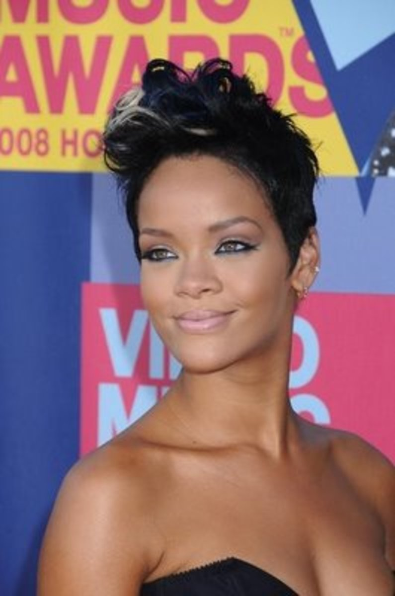 rihanna boyish haircuts for girls