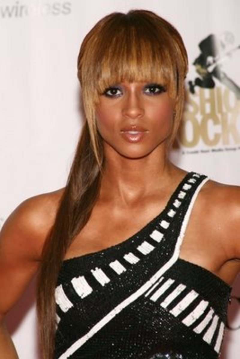2015 hairstyles trends fringe hairstyles for black women