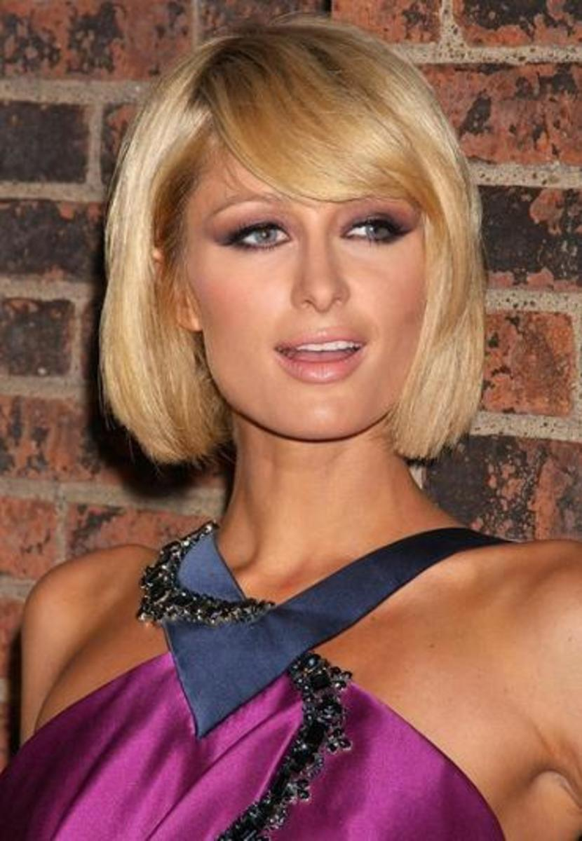 shoulder length bob haircut for girls