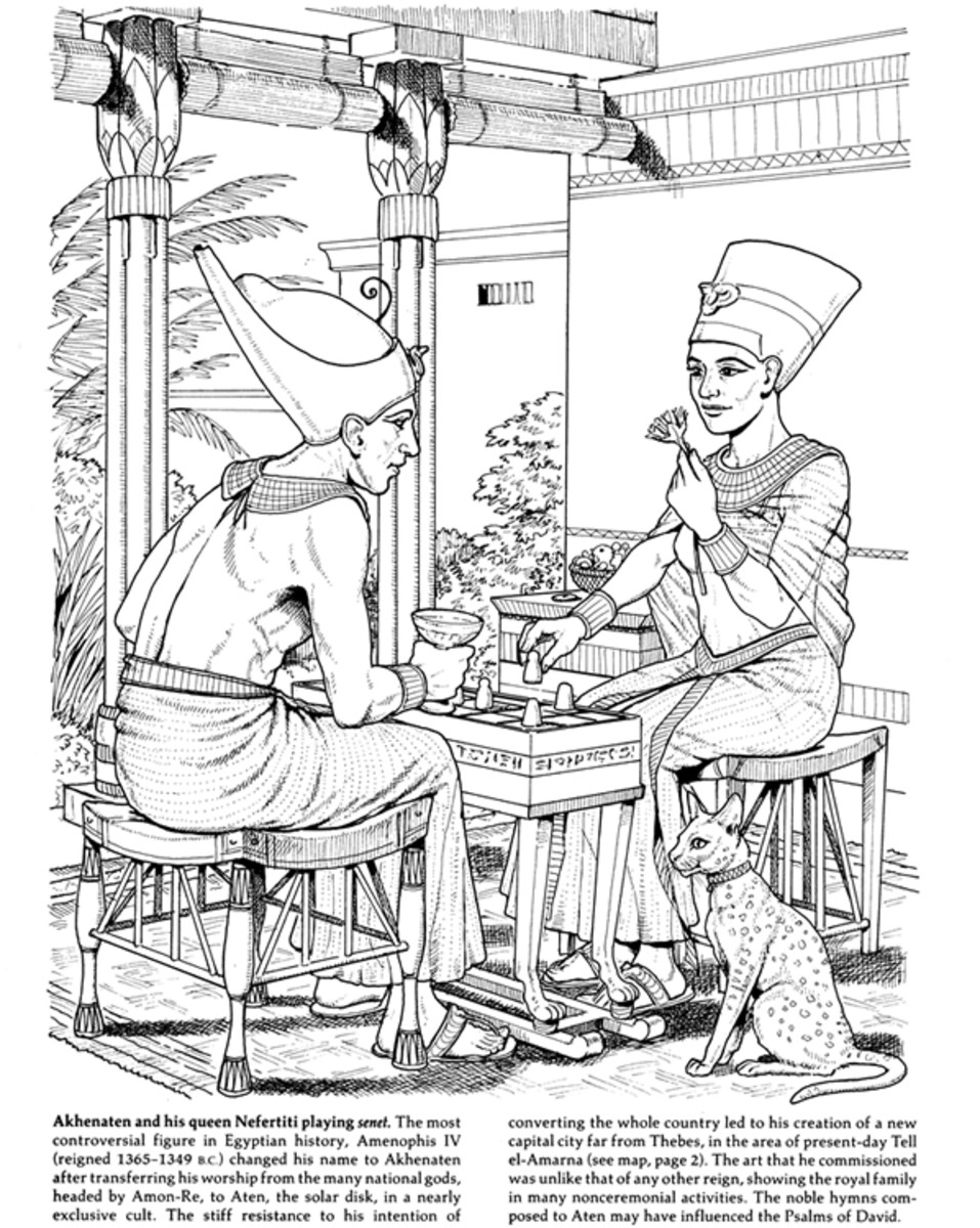 Ancient Civilizations Coloring Pages