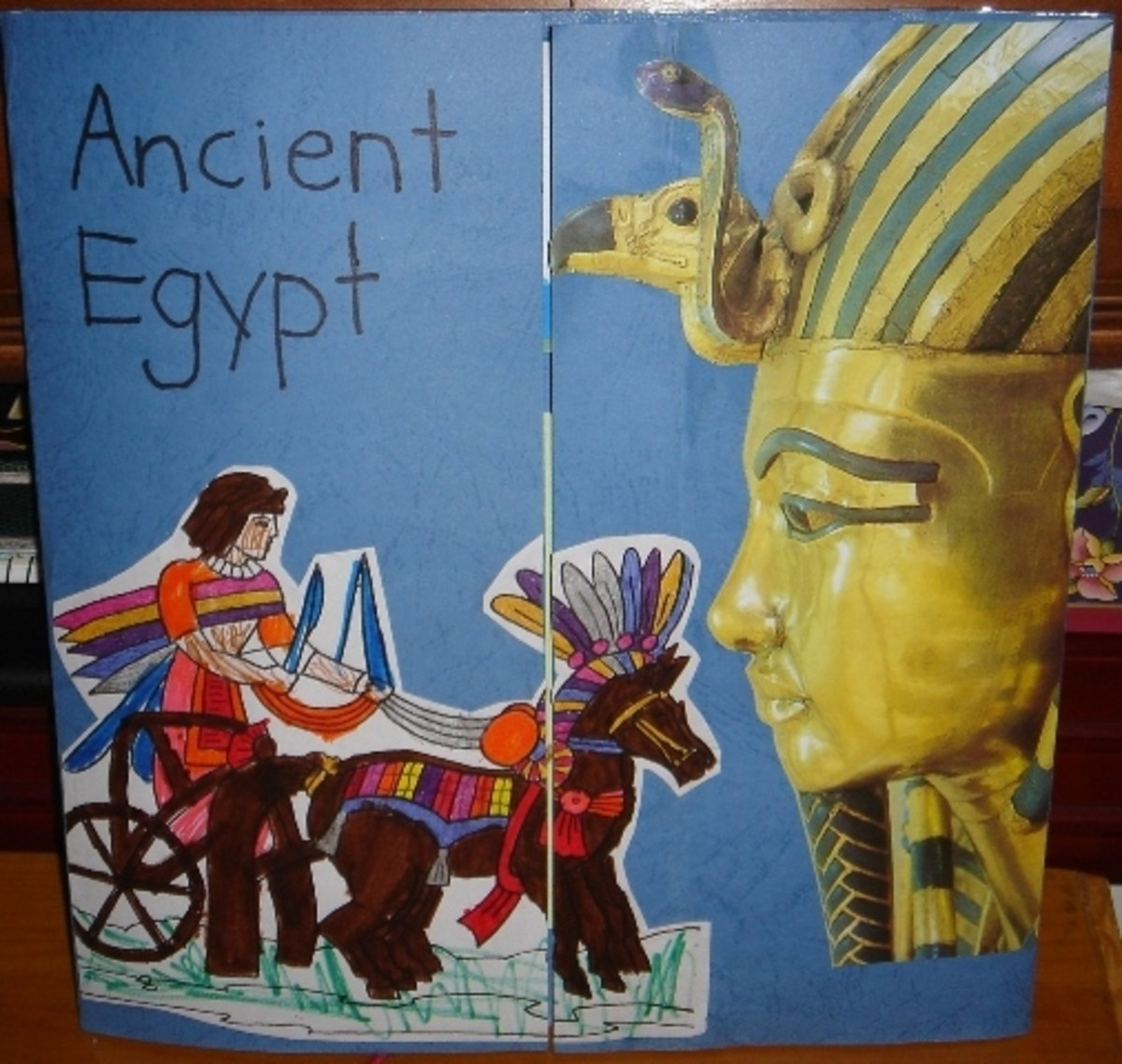 Ancient Egypt lapbook cover
