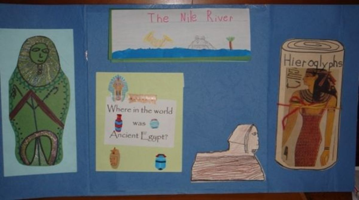 Ancient Egypt lapbook inside