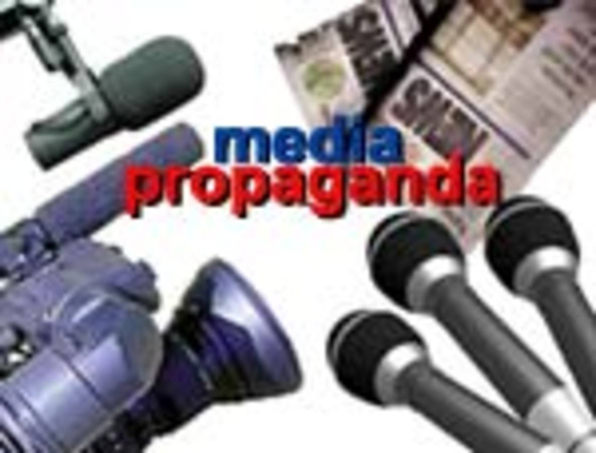 Media as an audio/visual conduit of propaganda