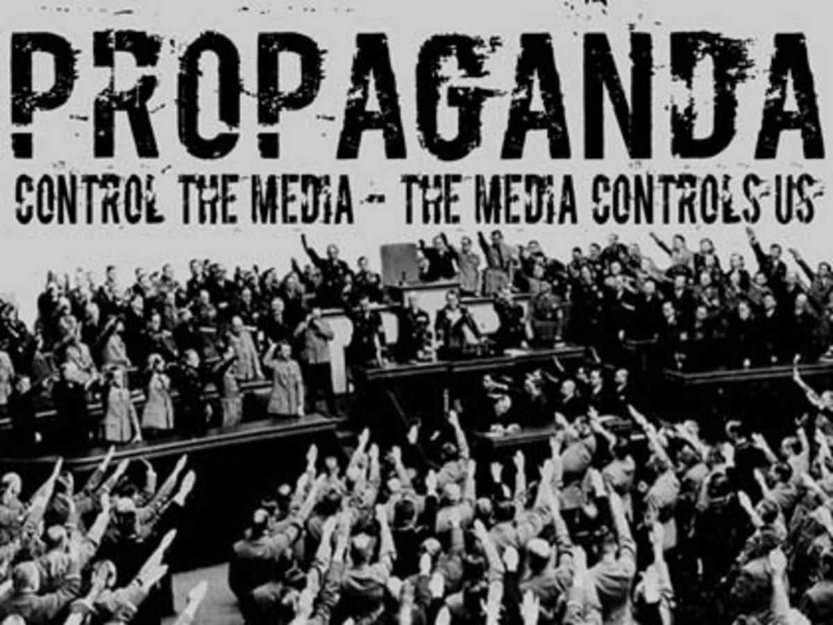 The media catches us by the tail and the head- They control our intake of information-they also control how we disseminate of make an output of that information- Garbage In-Garbage Out
