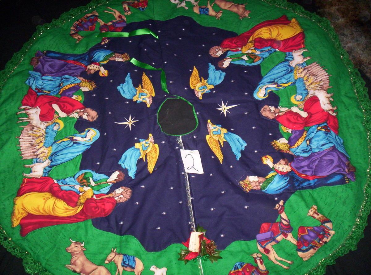 nativitychristmastreeskirt
