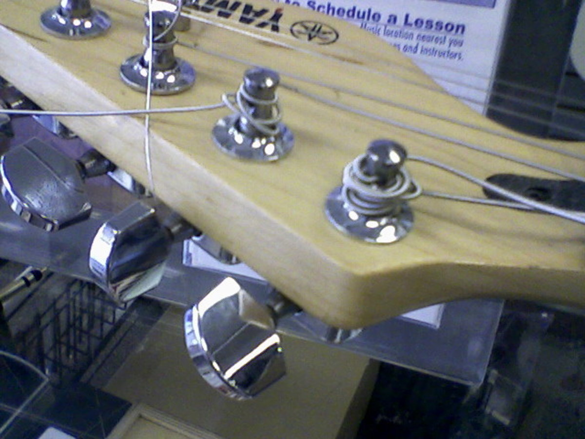 Not the way your strings should look!