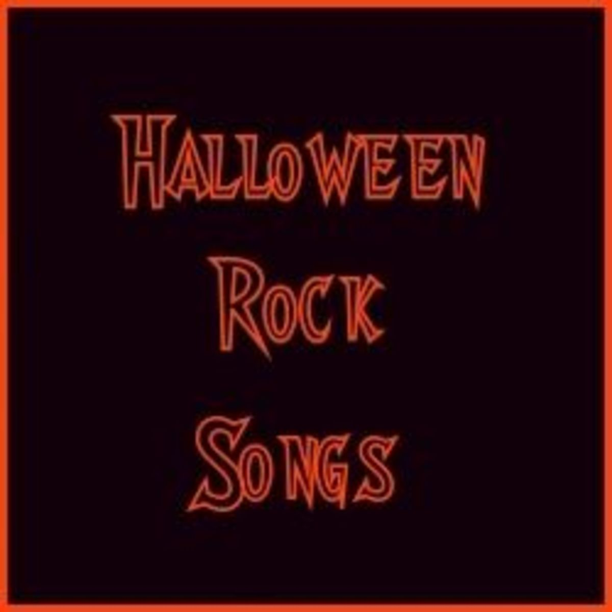 Halloween Rock Songs