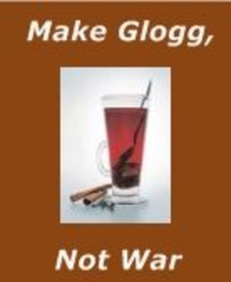 """Make Glogg, Not War"""