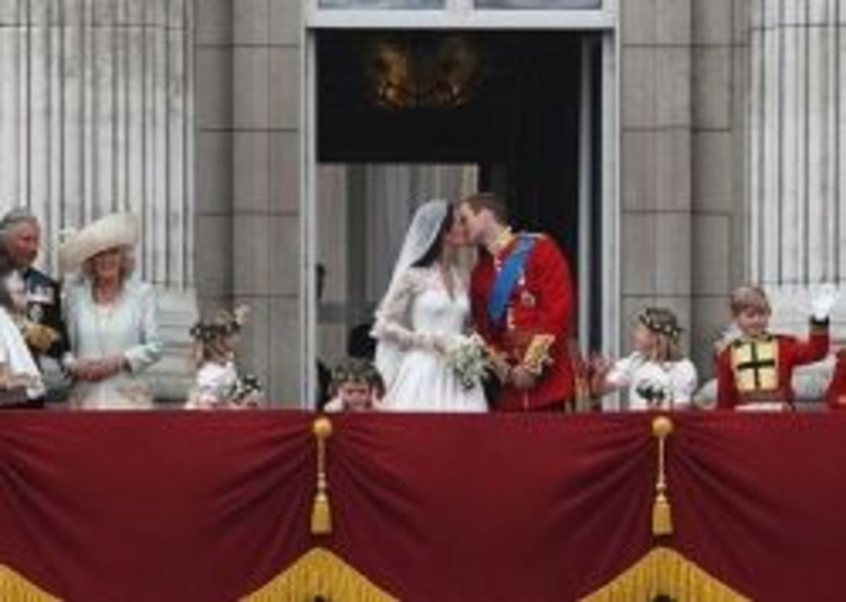 william and kate the kiss